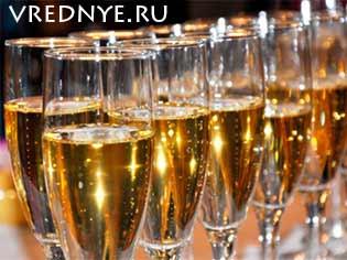 Через сколько выветривается шампанское и почему