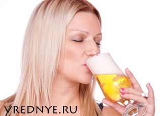 Как бросить пить пиво женщине в домашних условиях