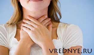 От чего болит горло после курения: причины, лечение